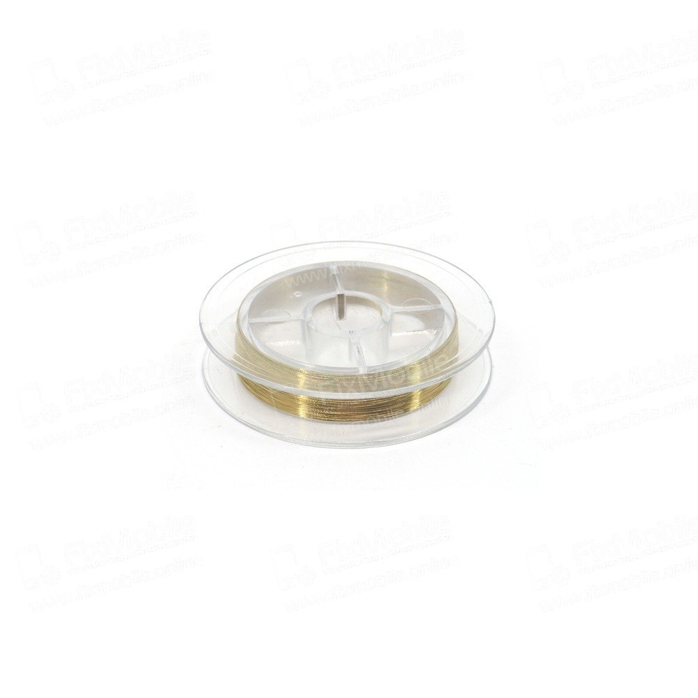 Струна Mechanic для разделения дисплейного модуля 0,08 мм, 100 м. (золото)