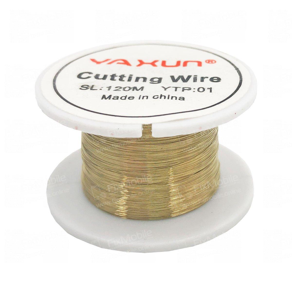 Струна Ya Xun YTP01 для разделения дисплейных модулей, 120 м. (золото)